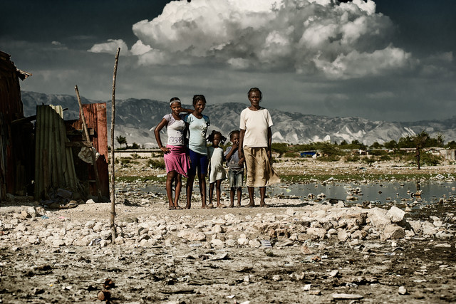 Ti Ayiti in Port-au-Prince - fotokunst von Frank Domahs