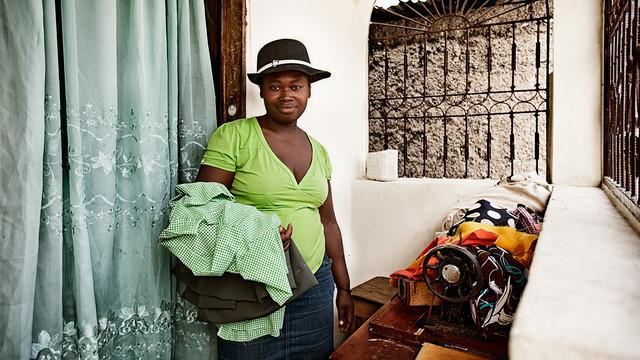 Pierre Mylene (31) aus Sité Soley - fotokunst von Frank Domahs