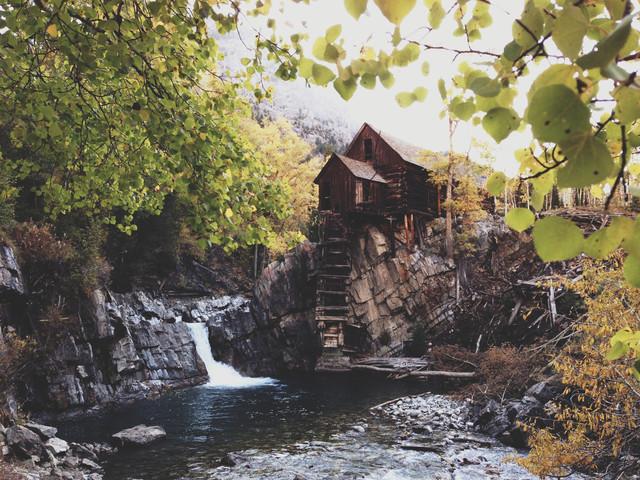 Kristall Mühle - fotokunst von Kevin Russ