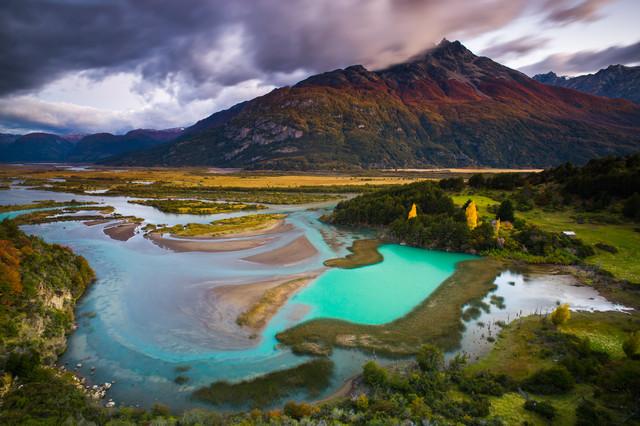 Reserva Nacional Cerro Castillo - fotokunst von Boris Buschardt