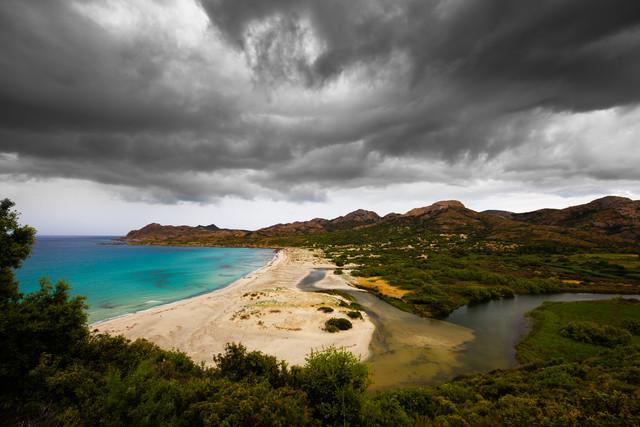 Anse de Peraiola - fotokunst von Boris Buschardt