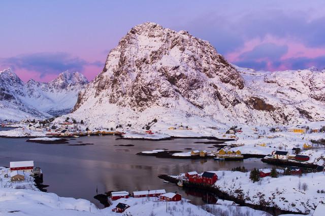 Å in Lofoten - fotokunst von Boris Buschardt