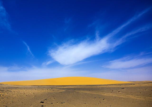 Dongola desert, Sudan - fotokunst von Eric Lafforgue