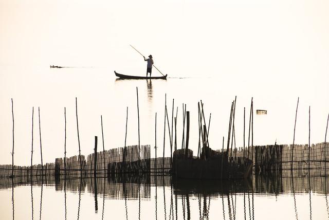 Fisherman - fotokunst von Manfred Koppensteiner
