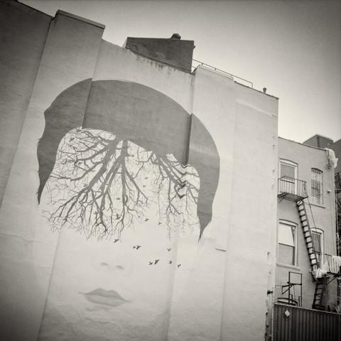New York City - Street Art - fotokunst von Alexander Voss