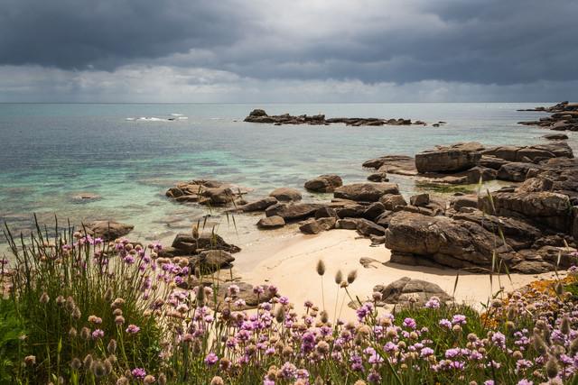 Stilles Glück am Meer - fotokunst von Monika Schwager