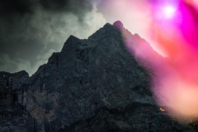 Karwendel - fotokunst von Lars Jacobsen