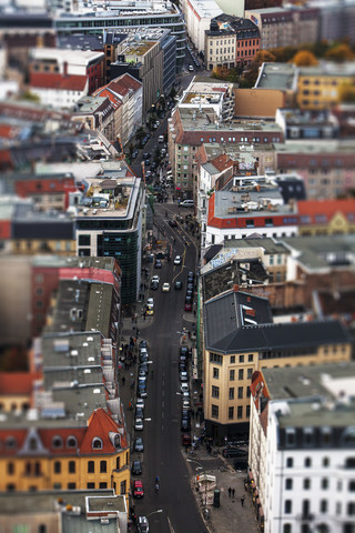 Little Berlin Photos of Berlin from above - fotokunst von Yehuda Swed