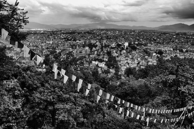Valley of Kathmandu - fotokunst von Jagdev Singh