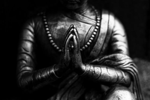 Namaste - fotokunst von Jagdev Singh