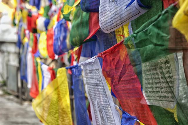 colors of buddhism - fotokunst von Jagdev Singh