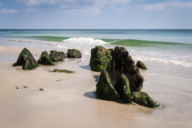 Tag am Meer - fotokunst von Monika Schwager
