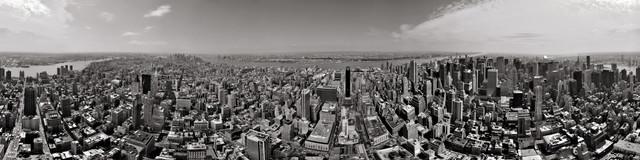New York Panorama - fotokunst von Sebastian Pahl