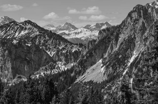Ammergebirge - fotokunst von Rainer Kohlrusch