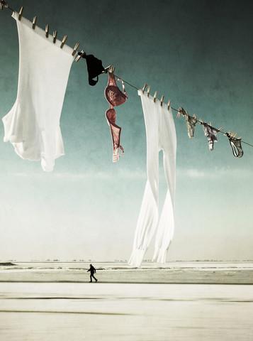 waschtag - fotokunst von Manuela Deigert