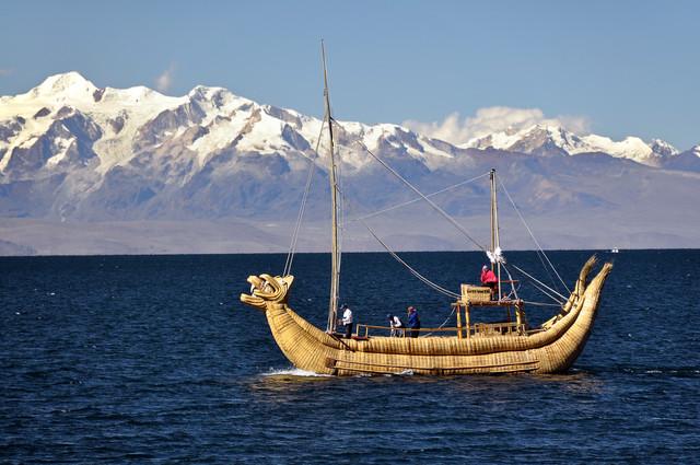 Lago Titicaca - fotokunst von Thomas Heinze