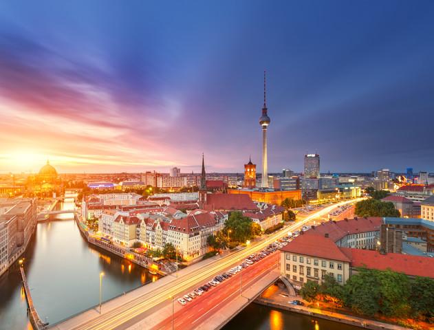 Berlin Summer - fotokunst von Matthias Makarinus