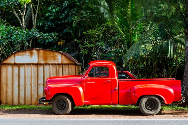 Truck - fotokunst von Lars Jacobsen