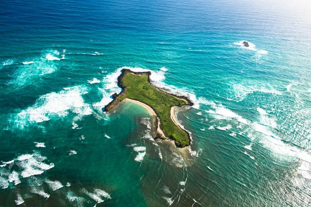 Goat Island - fotokunst von Lars Jacobsen
