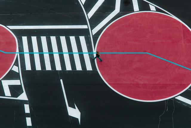 street geometry - fotokunst von Igor Krieg