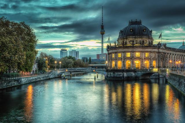Berlin Bodemuseum - fotokunst von Stefan Schäfer