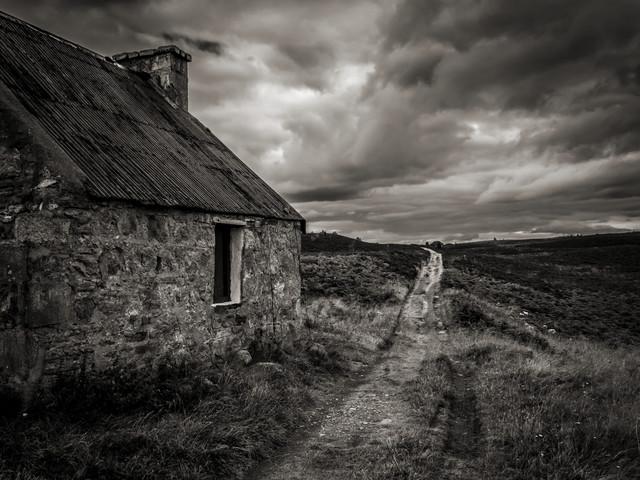 Die schottischen Highlands - fotokunst von Jörg Faißt