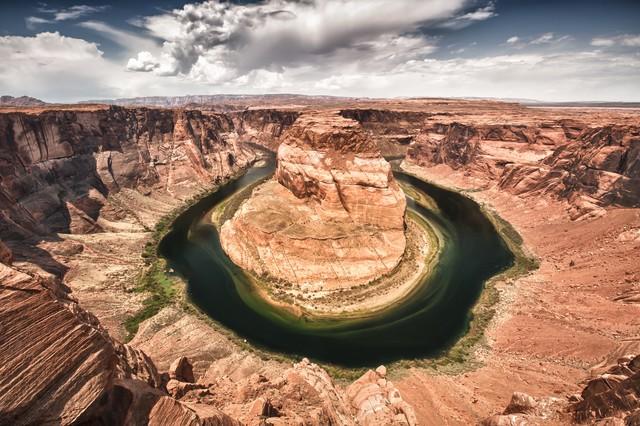 Horseshoe Bend - fotokunst von Michael Stein