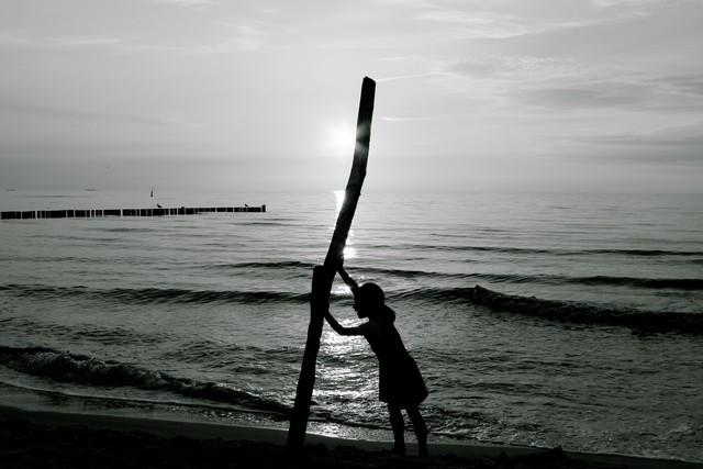 KRÄFTEMESSEN - fotokunst von Ivonne Wentzler