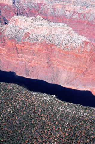 Grand Canyon Schlucht - fotokunst von Holger Ostwald