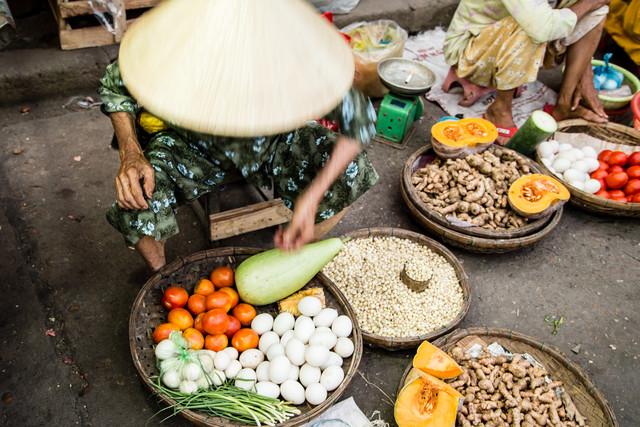 Marktszene - fotokunst von Steffen Rothammel
