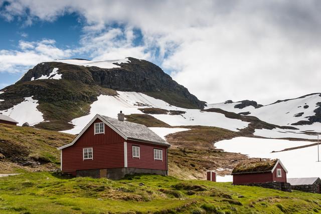 Auf dem Fjell - fotokunst von Sebastian John