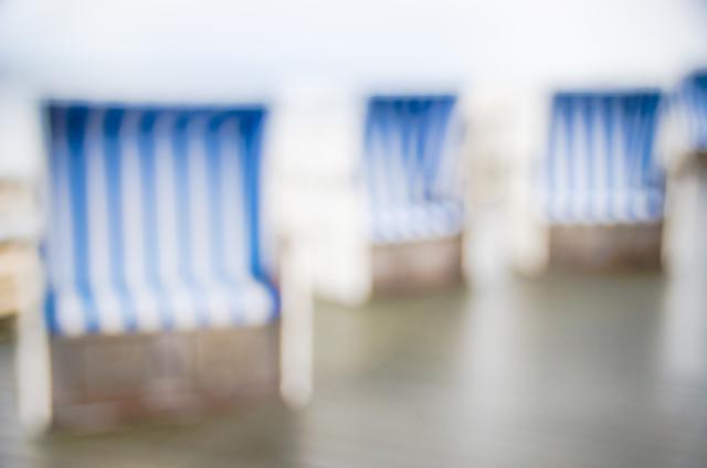 Strandkörbe - fotokunst von Gregor Ingenhoven