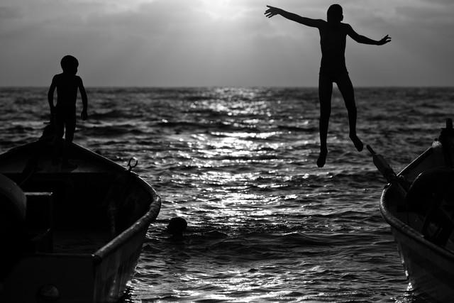 wet games - fotokunst von Victor Bezrukov