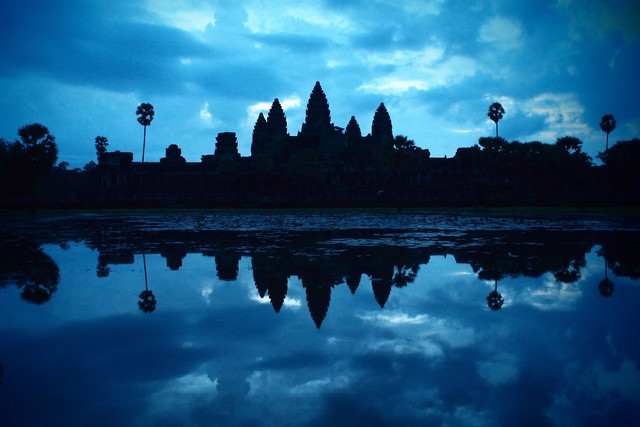 Angkor Wat - fotokunst von Axel Bückert