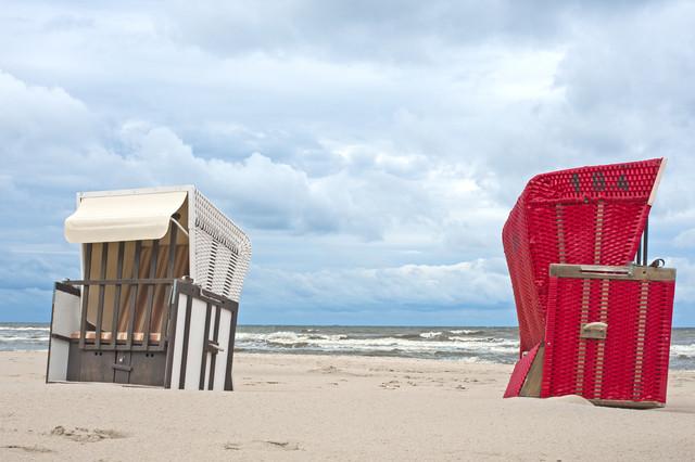 Strandkorb - fotokunst von Alexander Barth