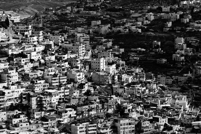busy mountains of Jerusalem - fotokunst von Victor Bezrukov