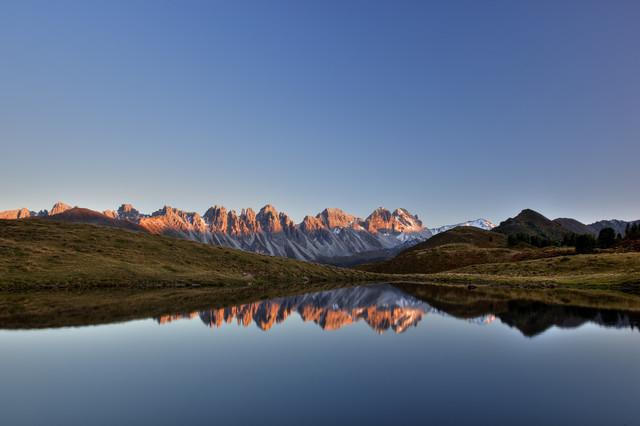 Gipfelglühen - fotokunst von Torsten Muehlbacher