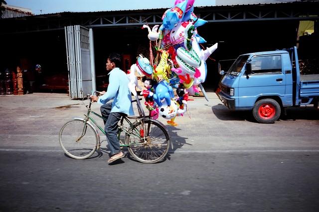 Cambodia Phnom Penh - fotokunst von Jim Delcid