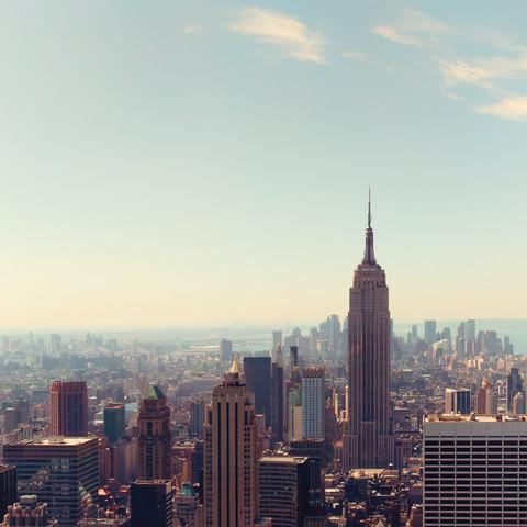 Empire State Building, New York City - fotokunst von Thomas Richter