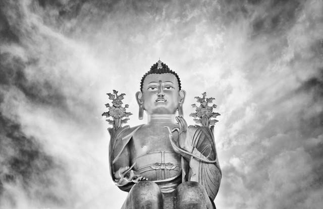 Lord Buddha - fotokunst von Victoria Knobloch