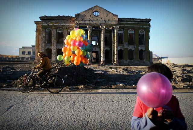 Buntes  Leben - fotokunst von Rada Akbar