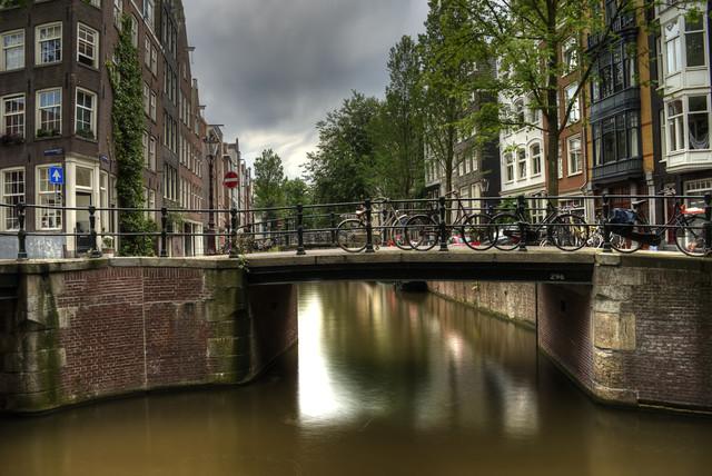 Amsterdam - fotokunst von Björn Groß