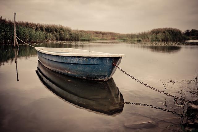 Das Boot - fotokunst von Andi Weiland
