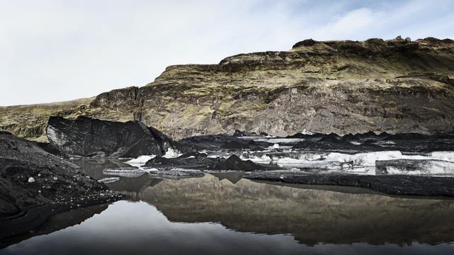 Sólheimajökull III - fotokunst von Gabi Kuervers