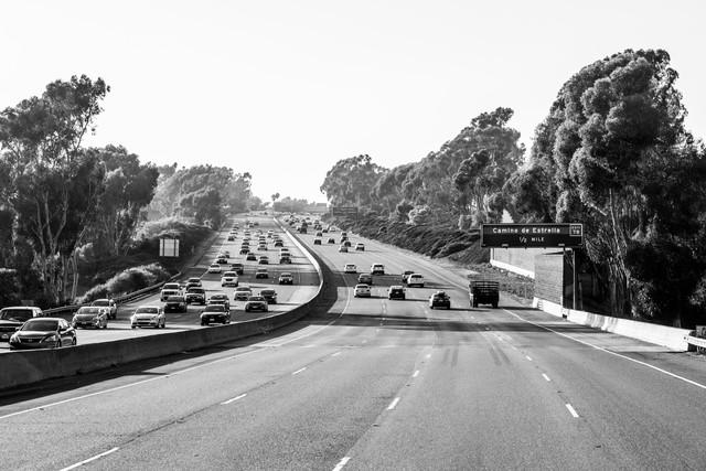 Freeway - fotokunst von Lars Jacobsen