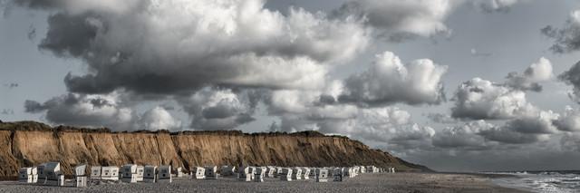 Rotes Kliff, Sylt - fotokunst von Franzel Drepper