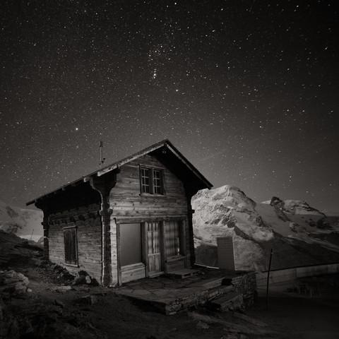 Gornergrat Hut - fotokunst von Ronny Behnert