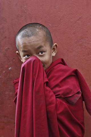 little buddha - fotokunst von Jagdev Singh