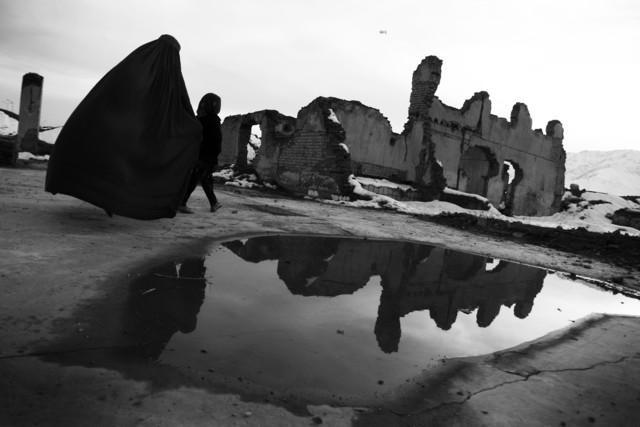 The Footprint of War - fotokunst von Rada Akbar