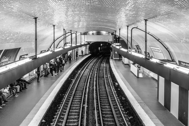 La Métro III - fotokunst von Sascha Bachmann
